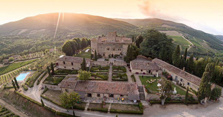 Castello di MELETO, Toskana